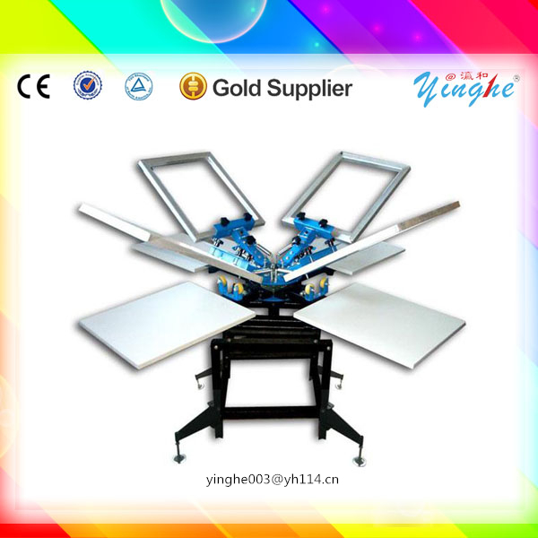 100% fully new plane printing machine silk screen