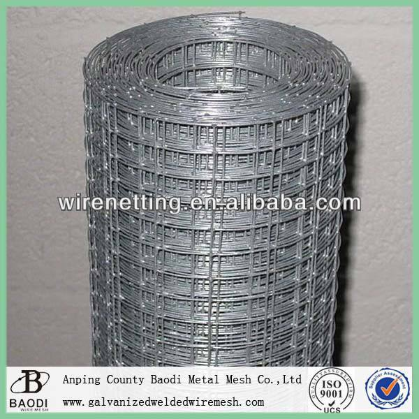 carbon iron black pvc coated welded wire mesh
