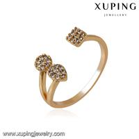 14133-custom jewelry wholesale 18k gold free size nice cheap diamond rings