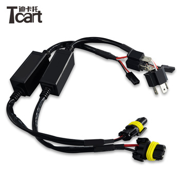 H4 Hi Lo Hid Xenon Relay Harness,H4 Wiring Harness - Buy H4 Hid Xenon Hid Wiring Harness Relay on
