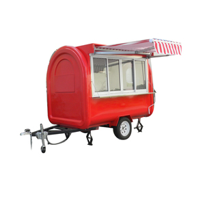 12v Australia Stainless Anchorage K Street Crepes China Made Mobil Food Truck Car with Fridge