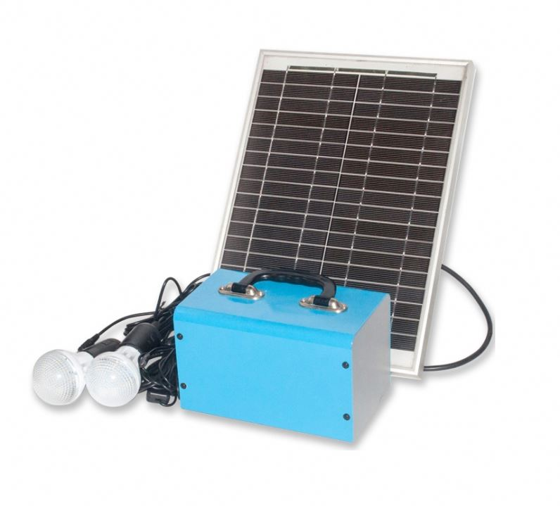 solar kits 1.2W 4 leds solar energy systems 6V 4.5A lead acid battery system