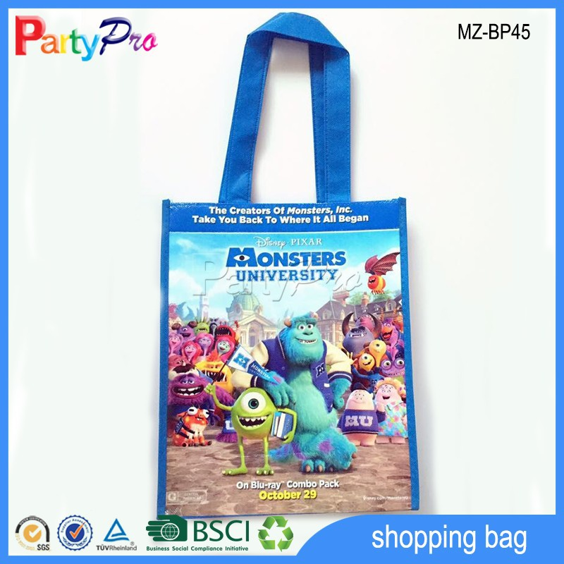 High Quality Cartoon Characters PP Non Woven Shopping Bag PP Non Woven Shopping Bag