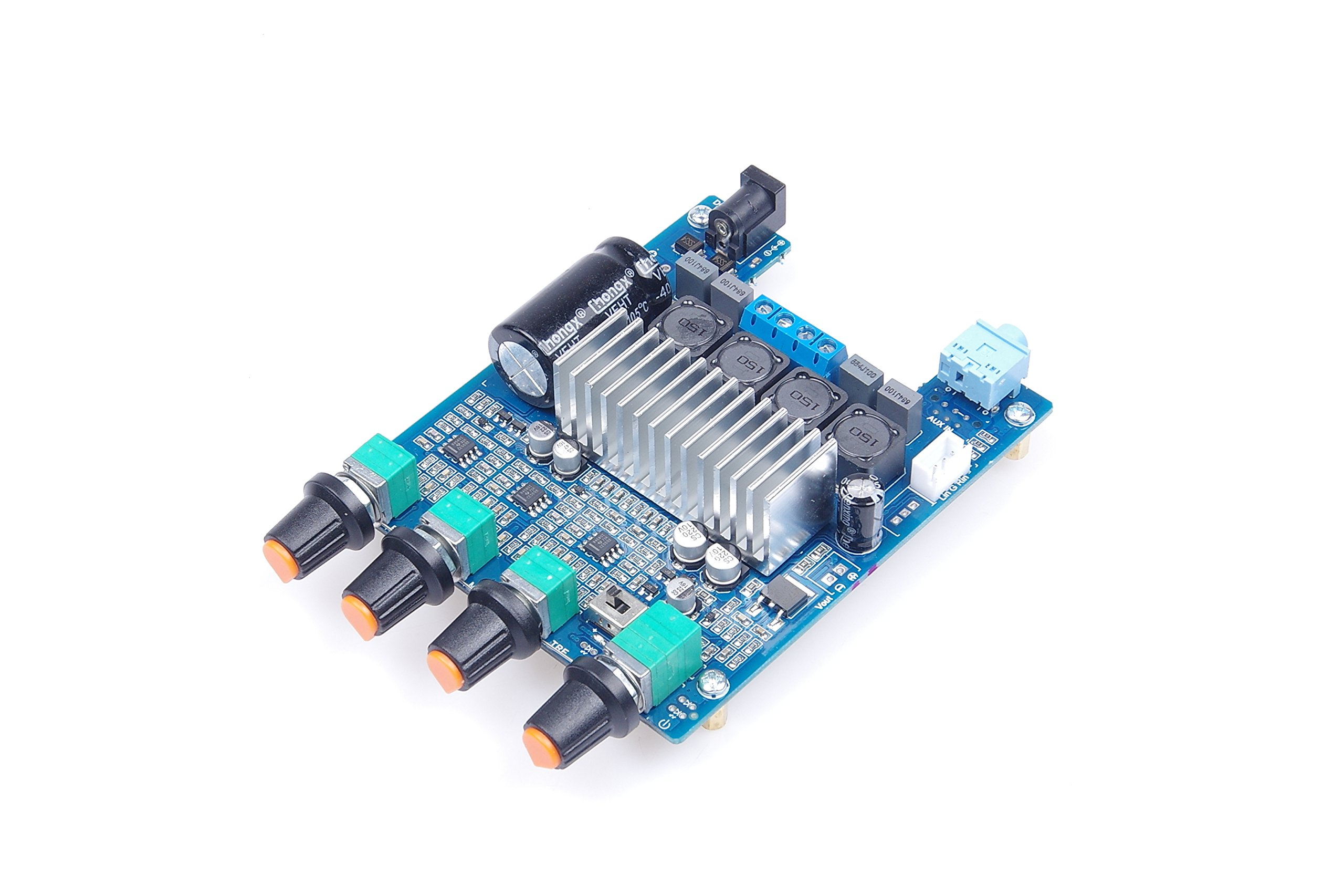 Cheap 100w Audio Amplifier Circuit Find 50w Stereo Electronic Design Get Quotations Tpa3116 21 2x50w Digital Powe Amp Module With Preamp Tone Adjustment