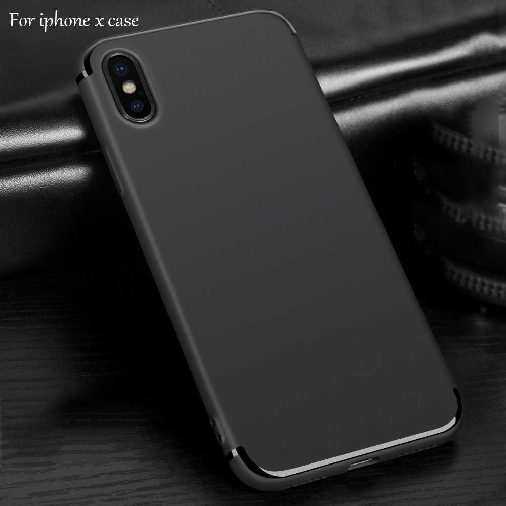 DFIFAN Smartphone case accessories mobile phone case for iphone x cellphone black cover for apple iphone xs for iphone