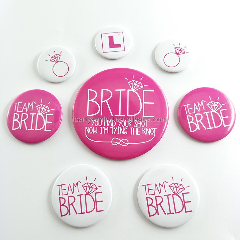 Venta al por mayor distintivos para boda-Compre online los mejores ...