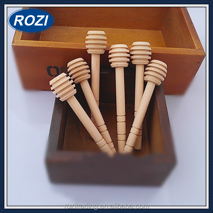 Mini Wood Honey Dipper Sticks 10cm Long