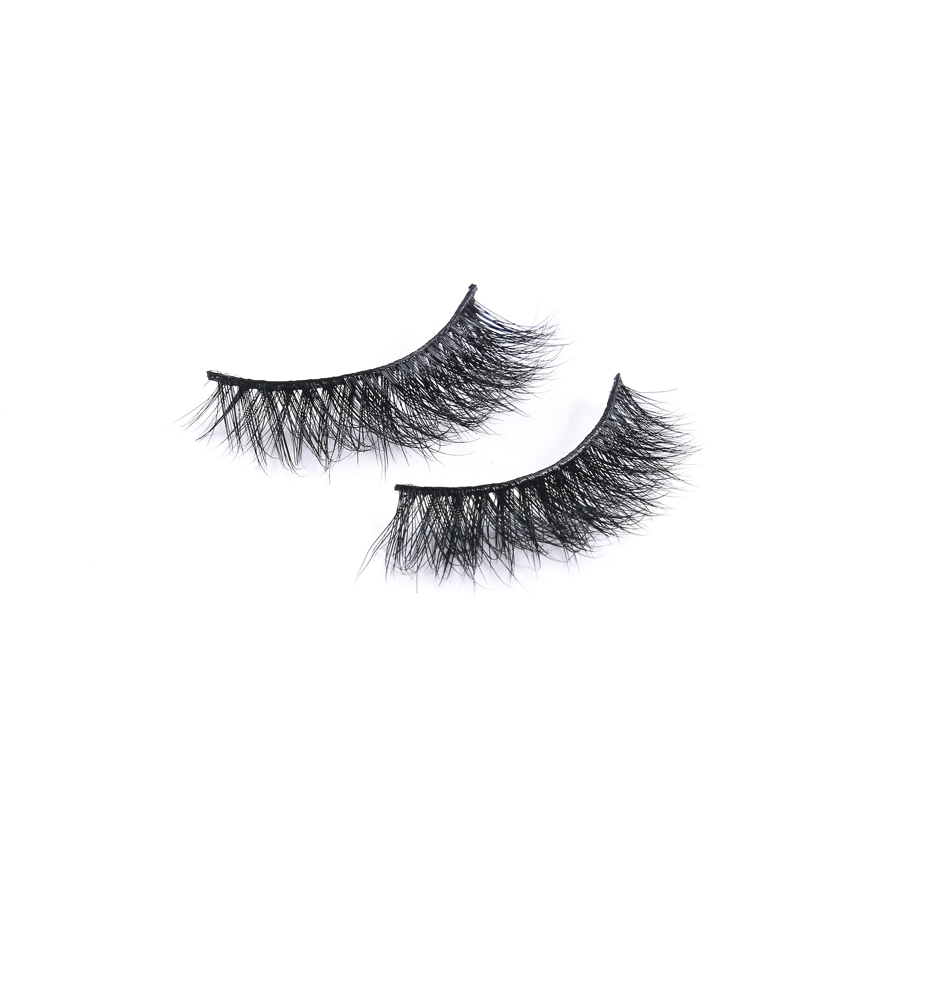 China Supplier wholesale private label mink eyelashes False Natural Strip Real 3D Mink Eyelashes фото