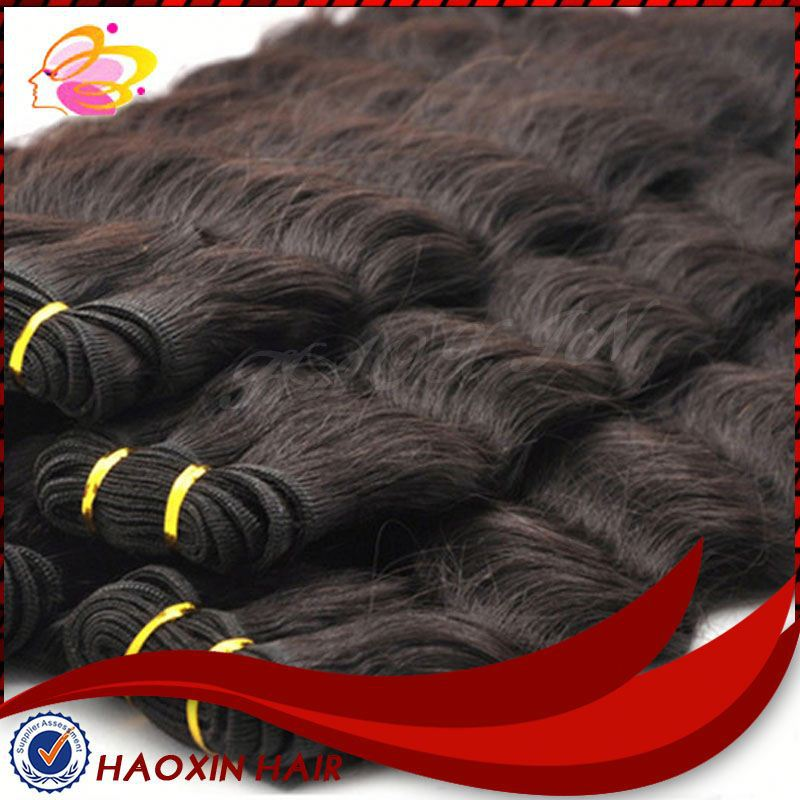 Virgin Raw Unprocesse Virgin Indian Human Hair Weaving