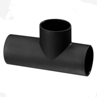 pe water drainage pipe and fittings made of HDPE material for construction comply with ISO 4427