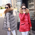 HOT Winter Maternity down coat fashion medium long thickening female maternity wadded jacket outerwear maternity down