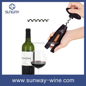 The amazon top seller mini plastic red wine opener corkscrew with custom color from festive & party supplies