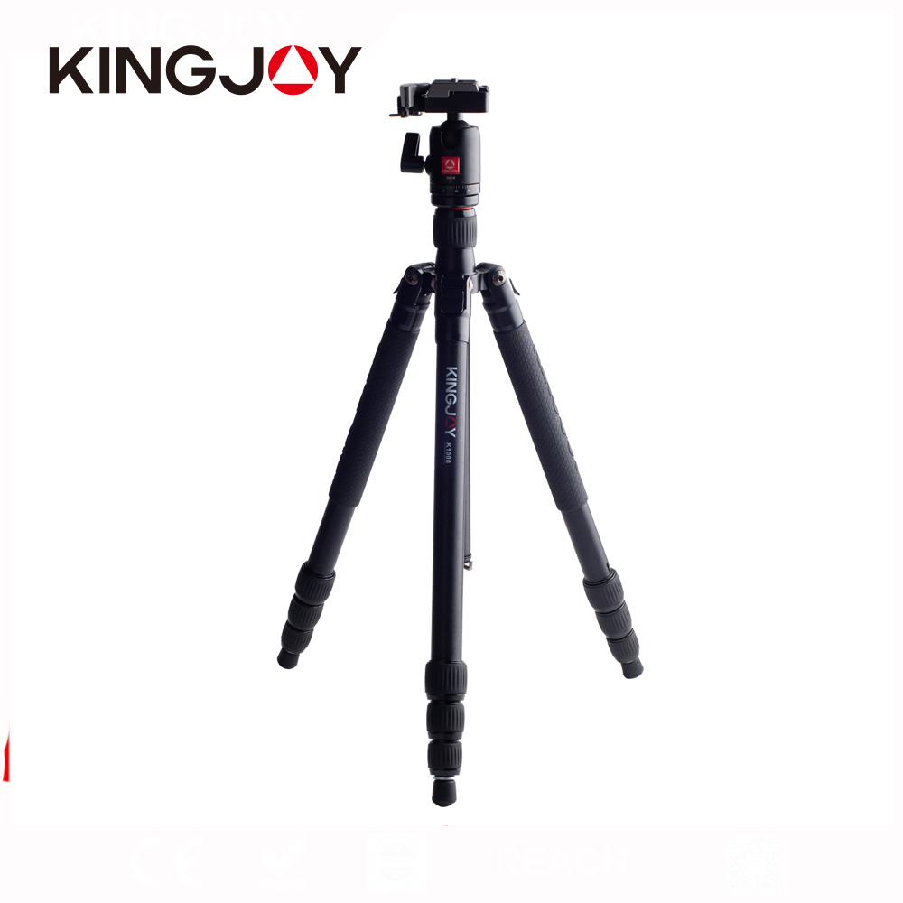 Kingjoy oem service online factory universal camera studio tripod China manufacturer with high quality