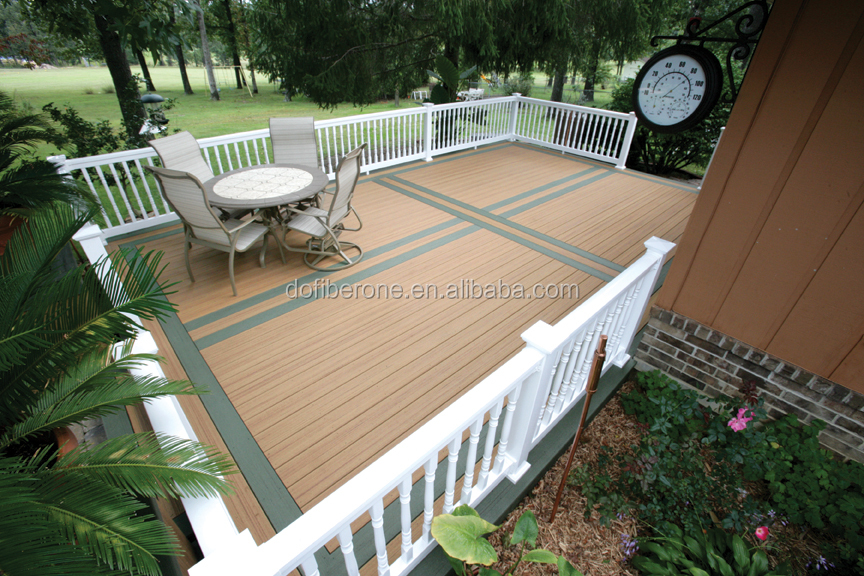 High Quality Outdoor Engineered Oak Flooring WPC Decking