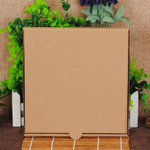 Bulk plain brown pizza box voor oven