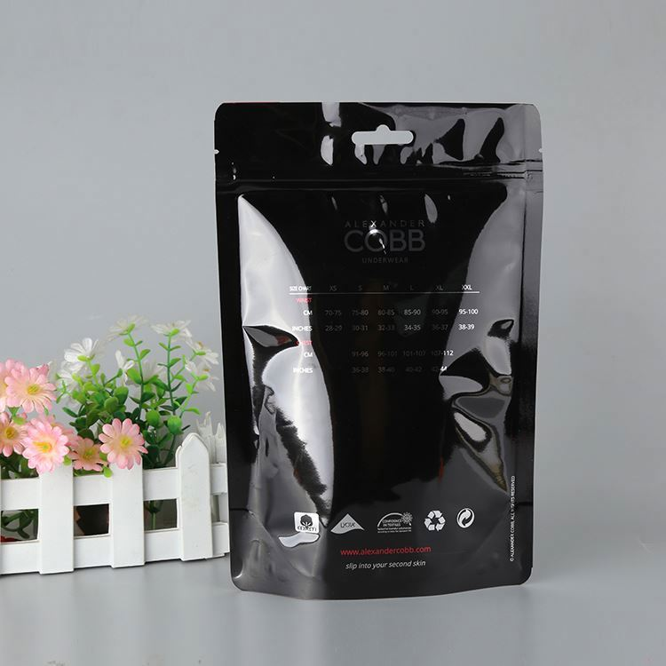 Resealable Transparent Custom Polybag Packaging Clear Plastic Poly Opp Bags For Clothing/ Garment Packaging Bag