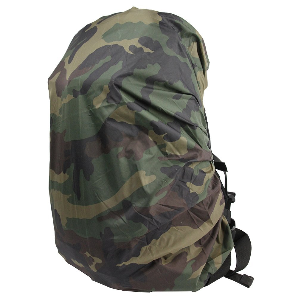 Airsson Backpack Bag Dust Rain Cover Camo Outdoor Travel Protable Waterproof Nylon for 25L-40L Backpack Hiking Camping