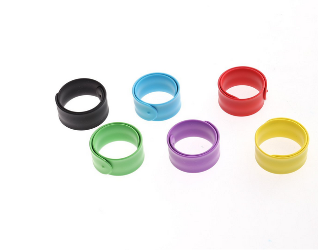 Silicone Bracelet Rubber Slap Ruler For Promotion