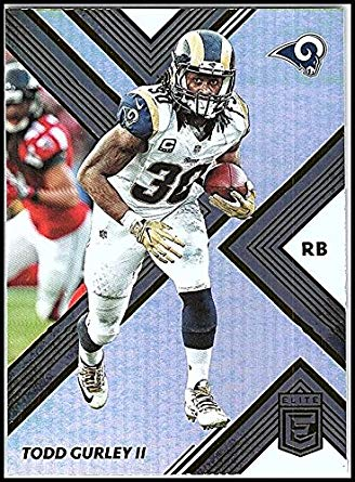 9f66d423d4b ... NFL Kids 4-7 Navy Home Mid-Tier Jersey 37.99. 2017 Donruss Elite #56 Todd  Gurley Ii Los Angeles Rams Football Card