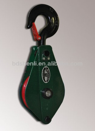 2T Steel Single Wheel Cable Block and Tackle Pulley