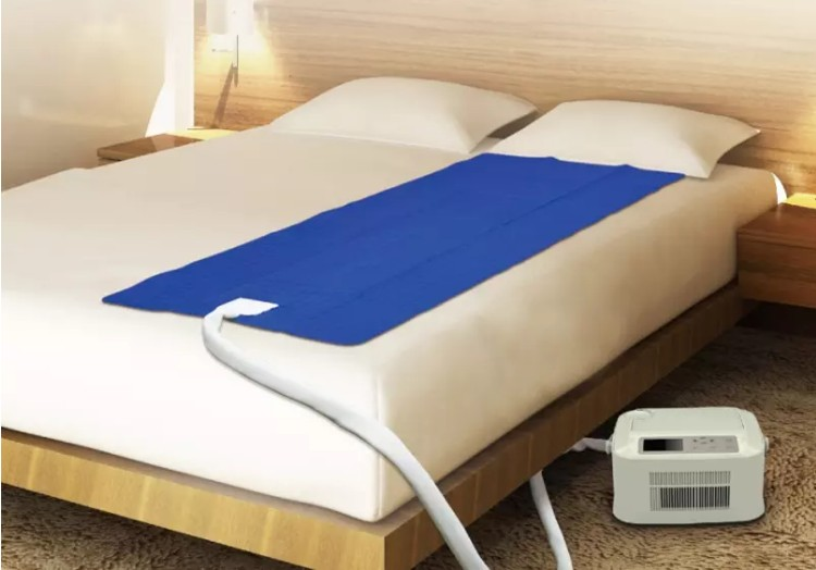 water cool and warm air conditioner mattress pad