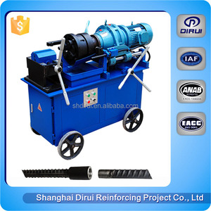 small rebar roll threading reinforced straight thread rolling machine