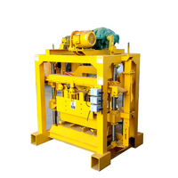 Hot sale brick production line manual block and brick making machines