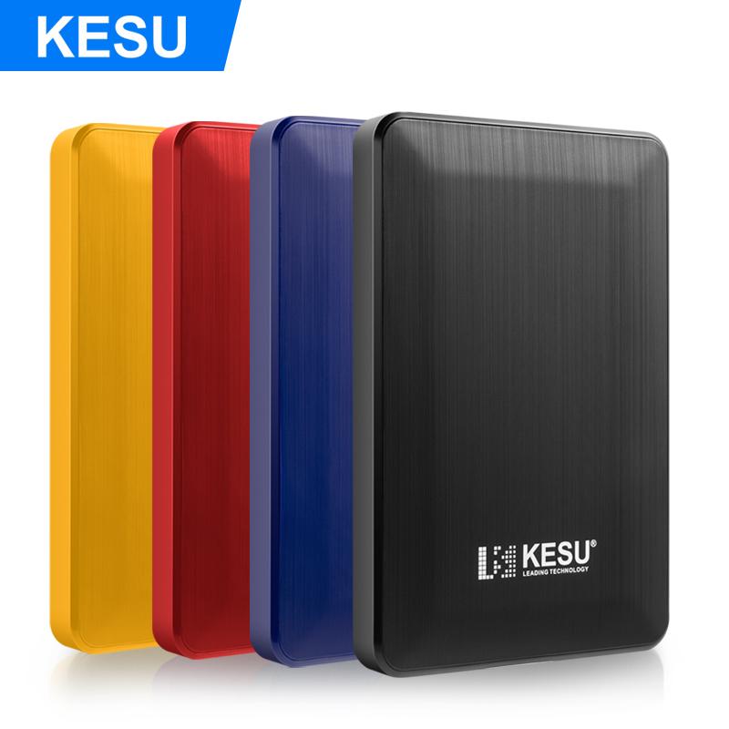 KESU de alta velocidad USB 3,0 HDD 2,5 INCH 80GB 120GB 160GB 250GB 320GB 500GB 2TB 1TB de disco duro externo