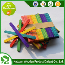 wooden ice cream sticks customized colorful popsicle stick and ice cream stick