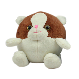 Customized Soft Small Round Animals Dog Pillow Plush Toy