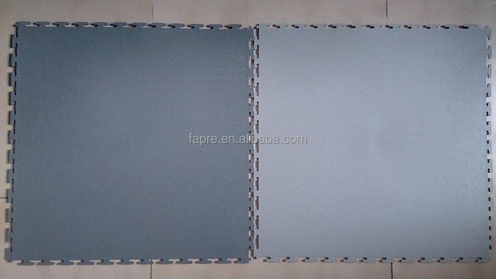 5.5mm spessore garage boden pvc incastro piastrelle per garage