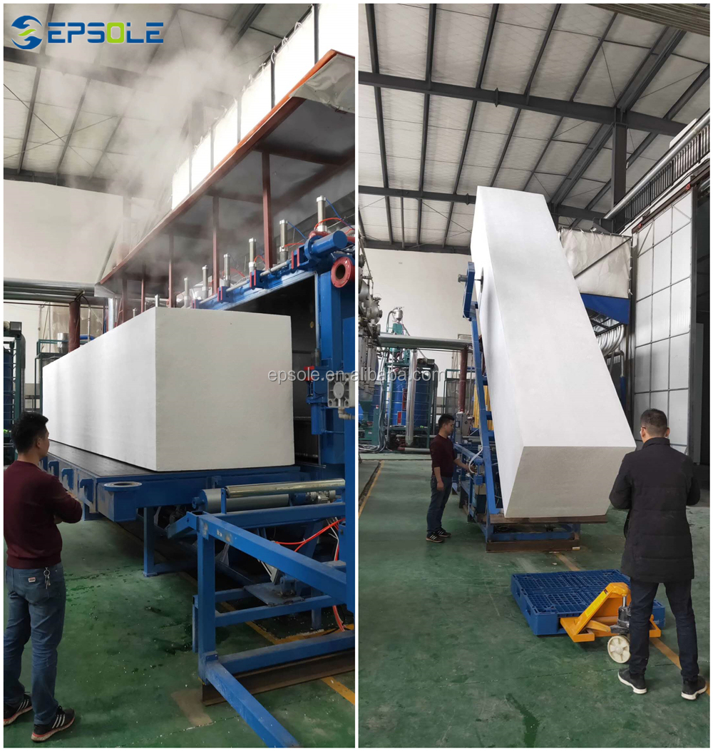 Automatic EPS Block Moulding Machine EPS Foam Block Machine