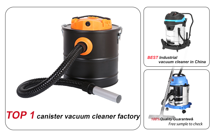 Hot Sale Powerful Portable Central Ash vacuum fireplace ash cleaner with blow function