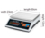 Stainless steel kitchen electronic weighing scale