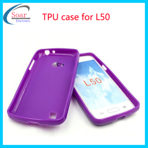 Jelly case soft TPU cover case for lg l50
