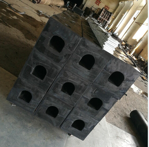 moulded square type boat rubber marine fender