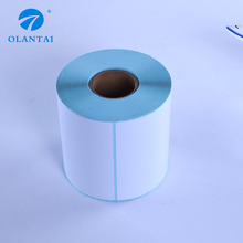 Customized roll blank sticker thermal adhesive label
