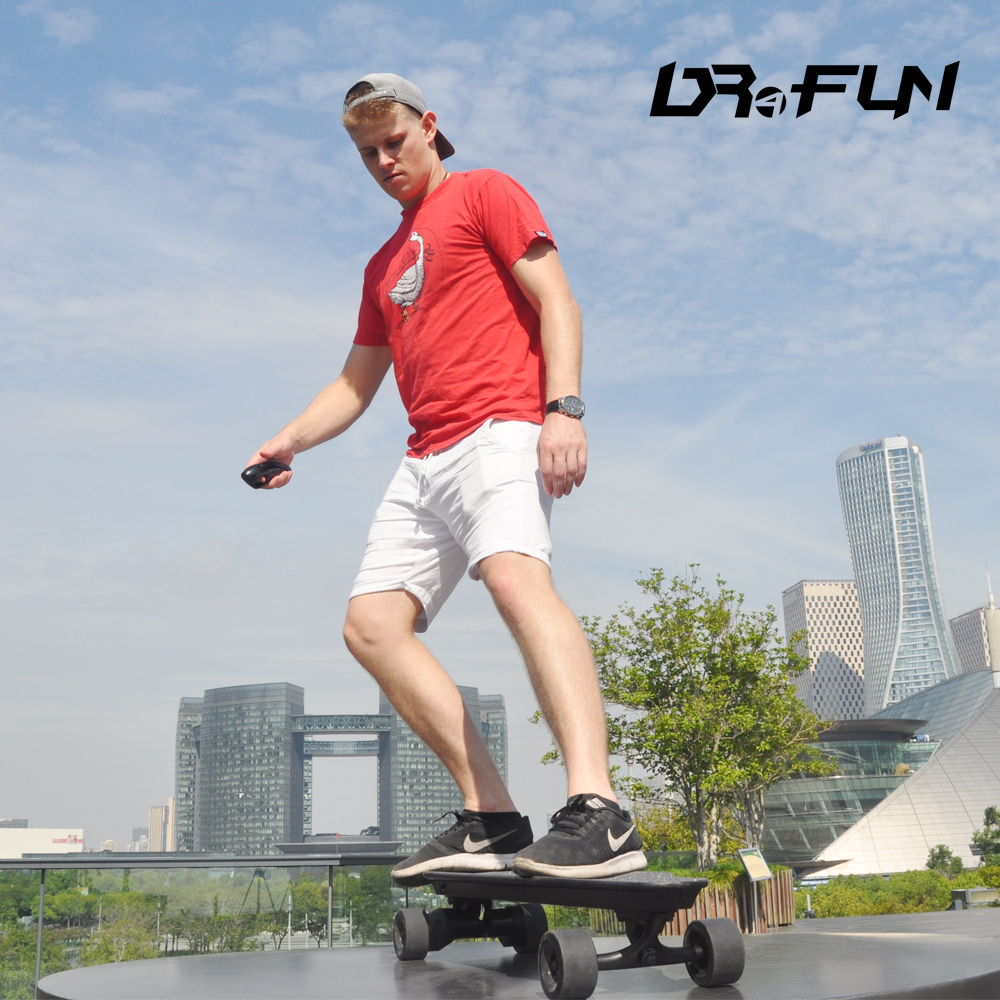 45KM/H Cruiser Off Road APP Remote Control Dual 2000W Electric Skateboard With Independent Protection System