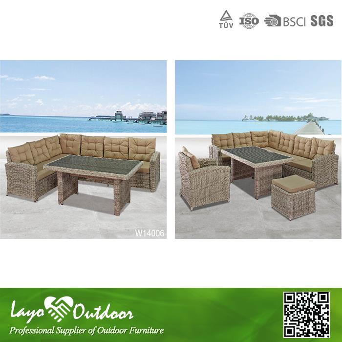 2 year warrantee promise long lasting furniture garden wicker with low price