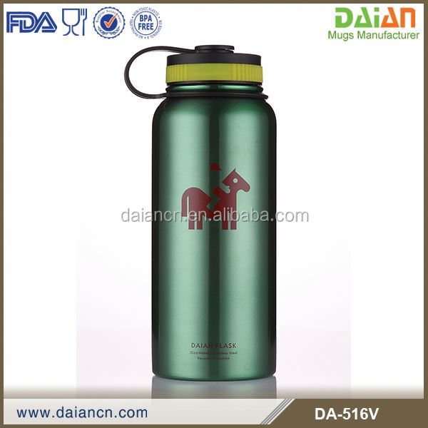 Custom printed stainless steel insulated 18/8 hydro flask