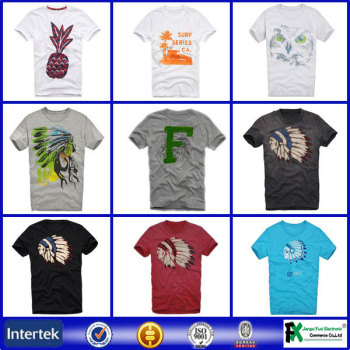 Import clothes thailand no label latest t shirt for T shirt manufacturers in turkey