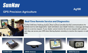 High Cost Effective Auto Steering System Sunnav Ag 100 With Promotion Price