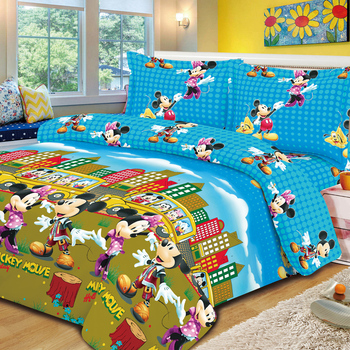100%polyester microfiber printed bedsheet fabric bedding fabric supplier sets with curtains