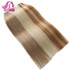Brazilian Virgin Remy Human Hair Brown Color PU Weft Thin Skin Weft Double Face Stick Tape Hair Extension