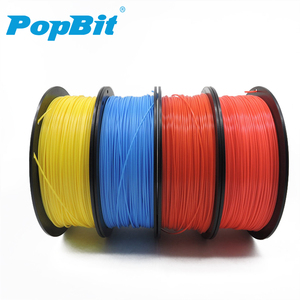 Warehouse price high quality filament 1.75 wood pla abs petg or 3D feeding rod plastic tube supports OEM and ODM