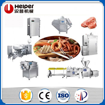 Electric commercial sausage production line
