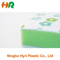 Colorful kitchen washing cleaning sponge for dish