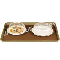 Hot sell non-skid Rectangular Large serving trays