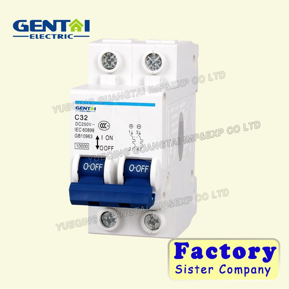 Dc circuit breaker manufacturer Mini electric DC circuit Breaker/miniature circuit breaker prices