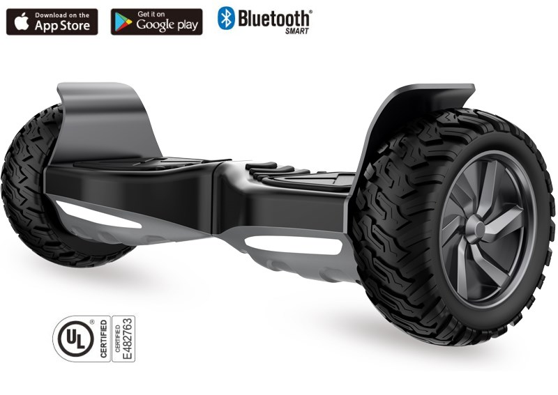 UL2272 Drifting Self Balancing Scooter Electric 8.5inch 800W With Bluetooth